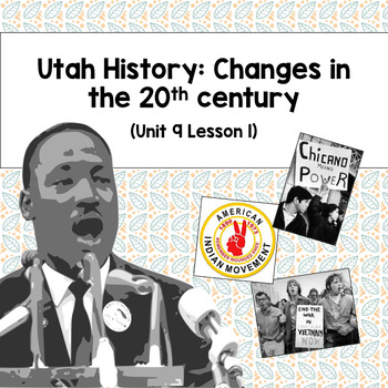 Utah History: Changes in the 20th Century