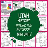 Utah History–Interactive Notebook Utah State Study Unit + AUDIO!