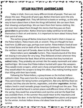 Utah History: Tribes, Leaders, Heroes and Villains
