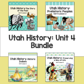 Utah History: Unit 4 Bundle