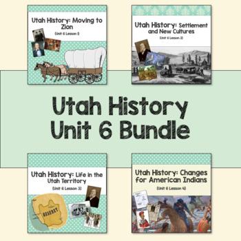 Utah History: Unit 6 Bundle