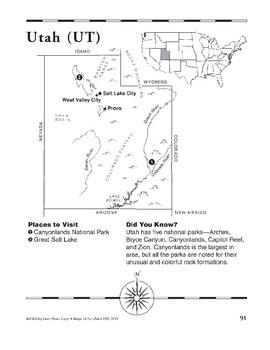 Utah (Map & Facts)