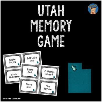 Utah Memory Game