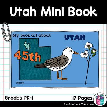 Utah Mini Book for Early Readers - A State Study