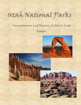 National parks worksheet teaching resources teachers pay teachers utah national parks fluency and comprehension utah national parks fluency and comprehension sciox Images