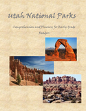 Utah National Parks Fluency and Comprehension