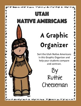 Utah Native American Graphic Organizer
