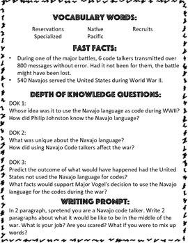 Utah Native Americans: The Navajo Code Talkers