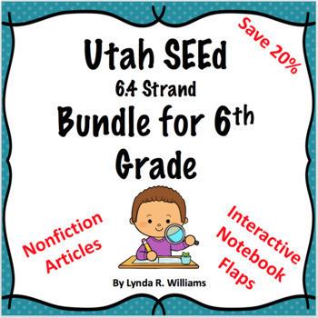 Utah SEEd 6.4 Strand Science Bundle at 20% Discount