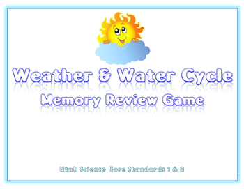 Utah Science Water Cycle and Weather Review