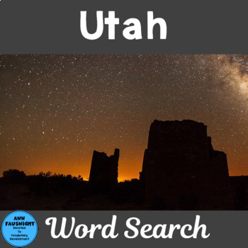 Utah Word Search