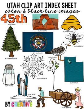 Utah State Clip Art