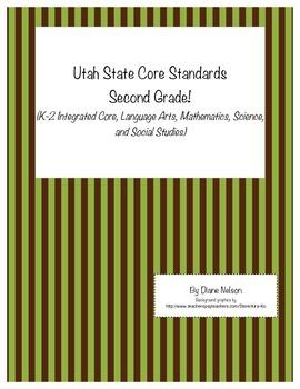 Utah State Core Standards Second Grade!