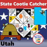Utah State Facts and Symbols Cootie Catcher Distance Learn