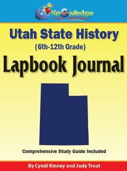 Utah State History Lapbook Journal