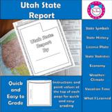 Utah State Report