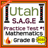 Utah State Standards for Mathematics Grade 8 (SAGE) Practi