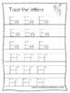 Utah State Symbols themed A-Z Tracing Preschool Handwriting Worksheets.