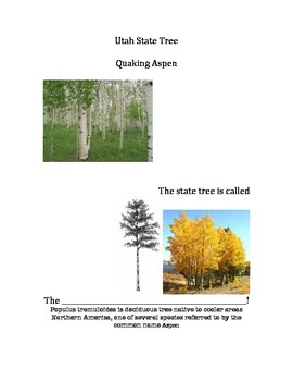 Utah State Tree