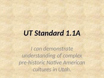 Utah Studies Unit 1.1A Slideshow