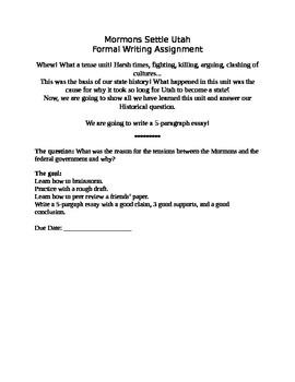 Utah War Research Paper