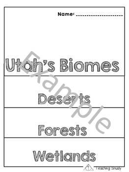 Utah's Biomes Flipbook