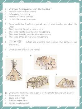 Utah's History: Utah's Five Native Tribes - LEVELED paired texts; RI 4.9.