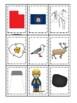 Utah themed Memory Matching and Word Matching preschool curriculum game