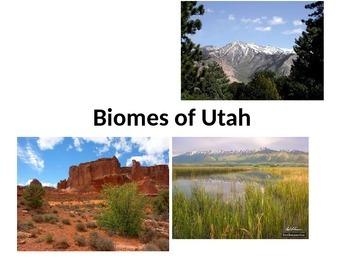 Utah's Biomes