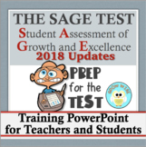 SAGE: Introduction to the Test PowerPoint with 2018 Updates!