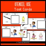 Utensil Uses Task Cards