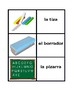 Utiles escolares (School Objects in Spanish) Concentration Games