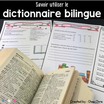 Utiliser le Dictionnaire Bilingue - How to use a Bilingual Dictionary