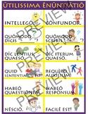 Utilissima Enuntiatio - Useful Sayings Poster