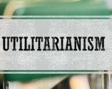 Utilitarianism (John Stuart Mill) PowerPoint
