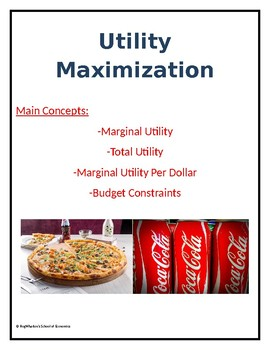 Utility Maximization Assignment