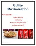 Utility Maximization Assignment