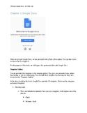 Utilizing Google Docs