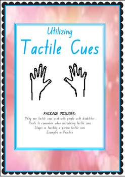 Utilizing Tactile Cues for Children with Disabilities
