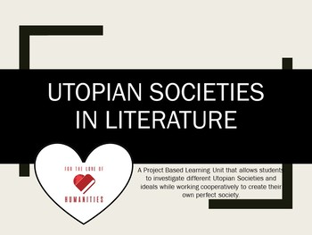 Utopian Societies in Literature