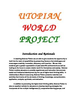 Utopian World Project-Science Fiction Applied