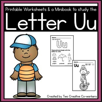 Letter U { Alphabet Practice }