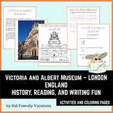 V & A Museum - London England - History, Facts, Coloring P