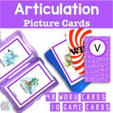 Articulation Picture Cards for V