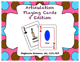 V Articulation Playing Cards