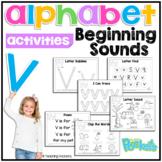 V Beginning Sound Letter of The Week Activity Pack
