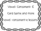 V-C-E Vowel Consonant E Game resources