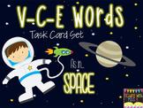 "V-C-E (""silent e"", ""CVCe"") Task Cards & Recording Sheet"