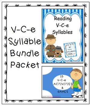 Vowel-Consonant-e Syllable Bundle Packet