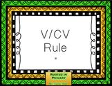 V/CV Word Practice Lesson